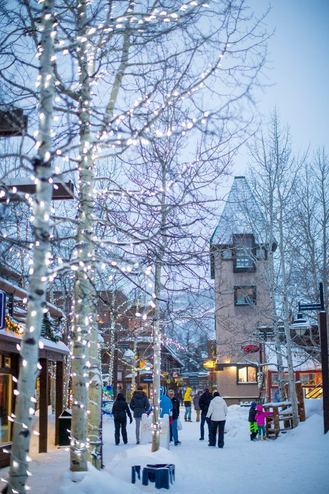 The snowmass mall